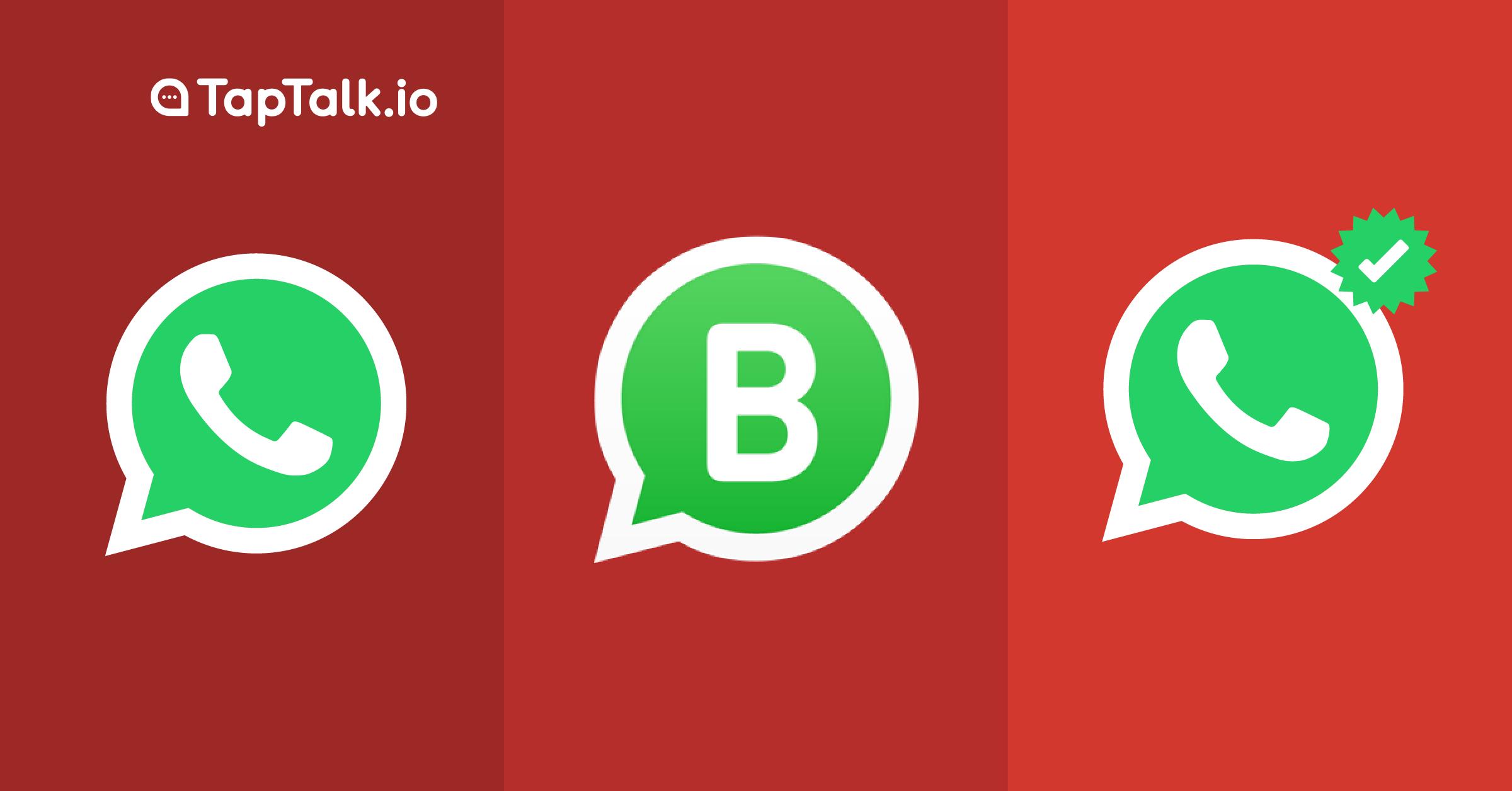 WhatsApp, WhatsApp Business, WhatsApp Verified.