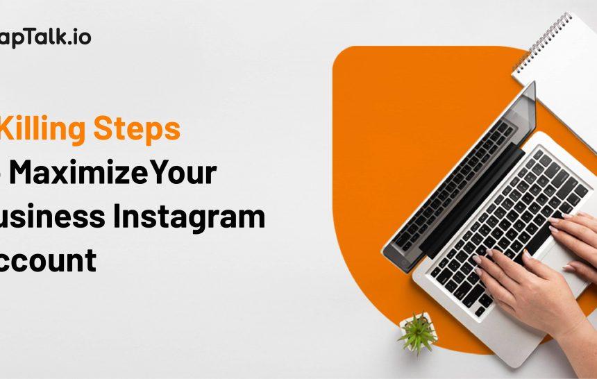 maksimalkan akun bisnis instagram