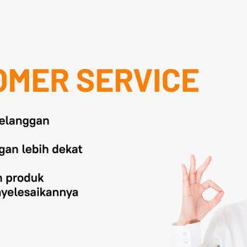 komunikasi lancar dengan pelanggan