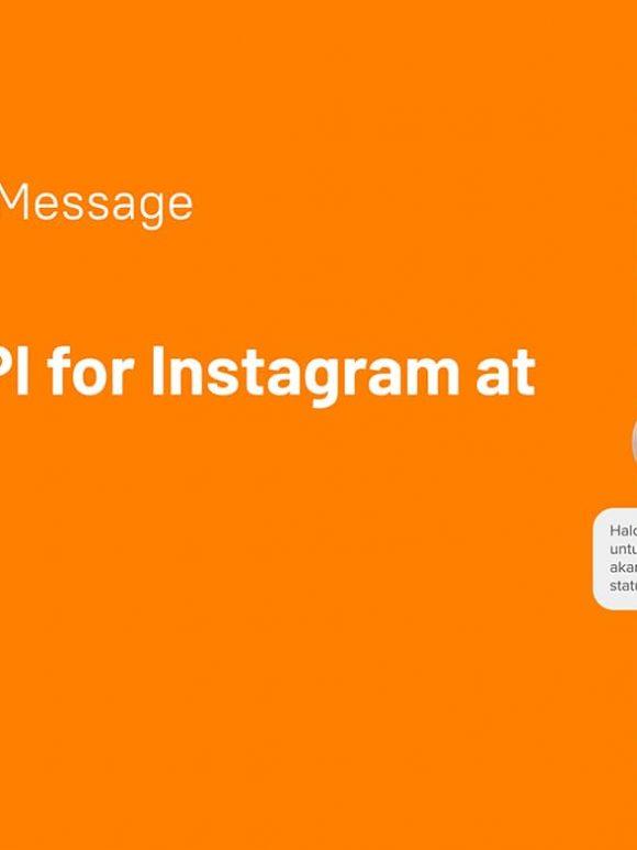 Instagram DM API with onetalk