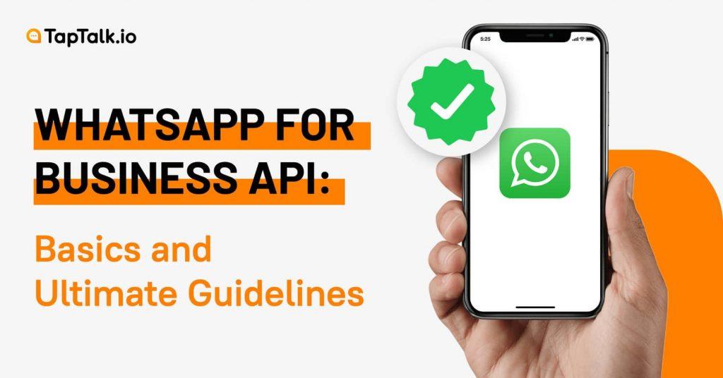 what is whatsapp business api