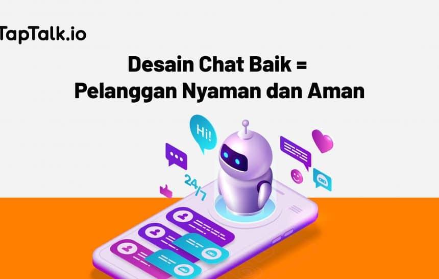 desain chat menarik