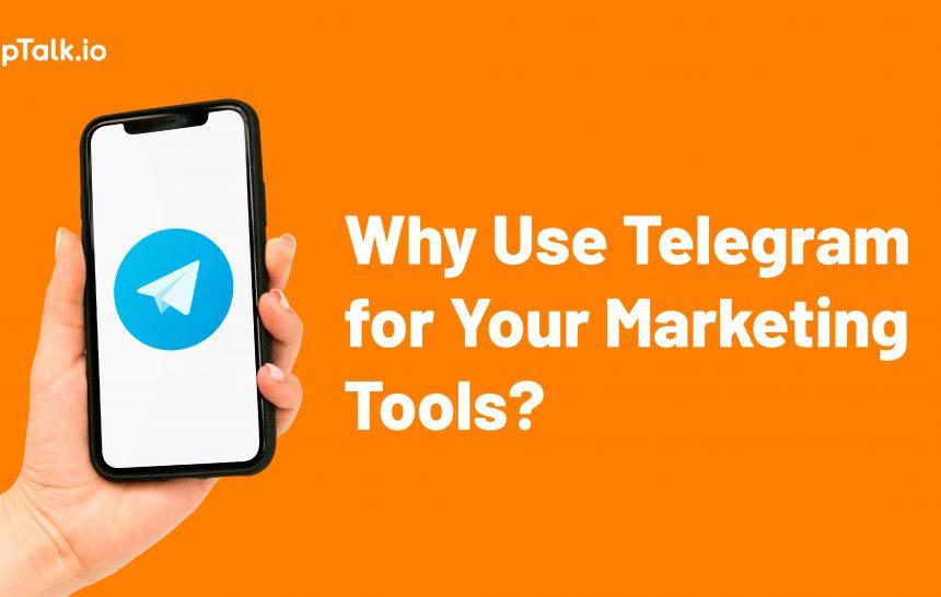telegram business